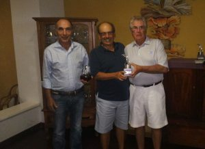 José Batista, Angelo Ferrari e Claudio Kiryla