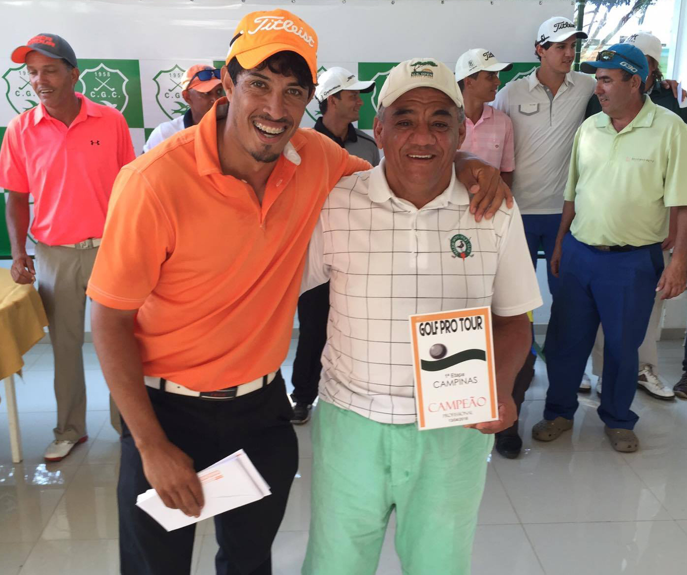 Acácio Jorge Pedro vence a I Etapa do Tour Profissional do Golf Pro Tour em Campinas