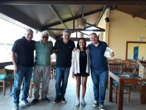Alexandre Santos, Celso Teixeira, Vlamir Antequera, Marisa Alves e Hilton Campos