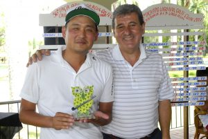 Andre Lee e José Geraldo Antunes Foto: Zeca Resendes/APG