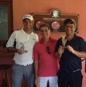 Paulo Ruba, Fernando Vieira e Marcos Gottschalk