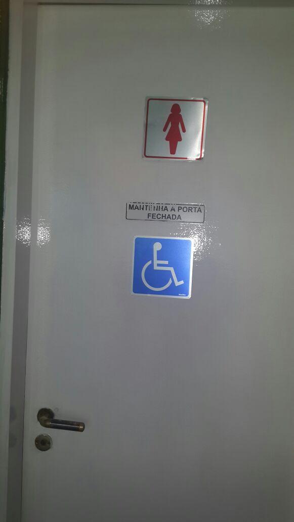Embrase Golf Center não é adaptado para receber pessoas com deficiências