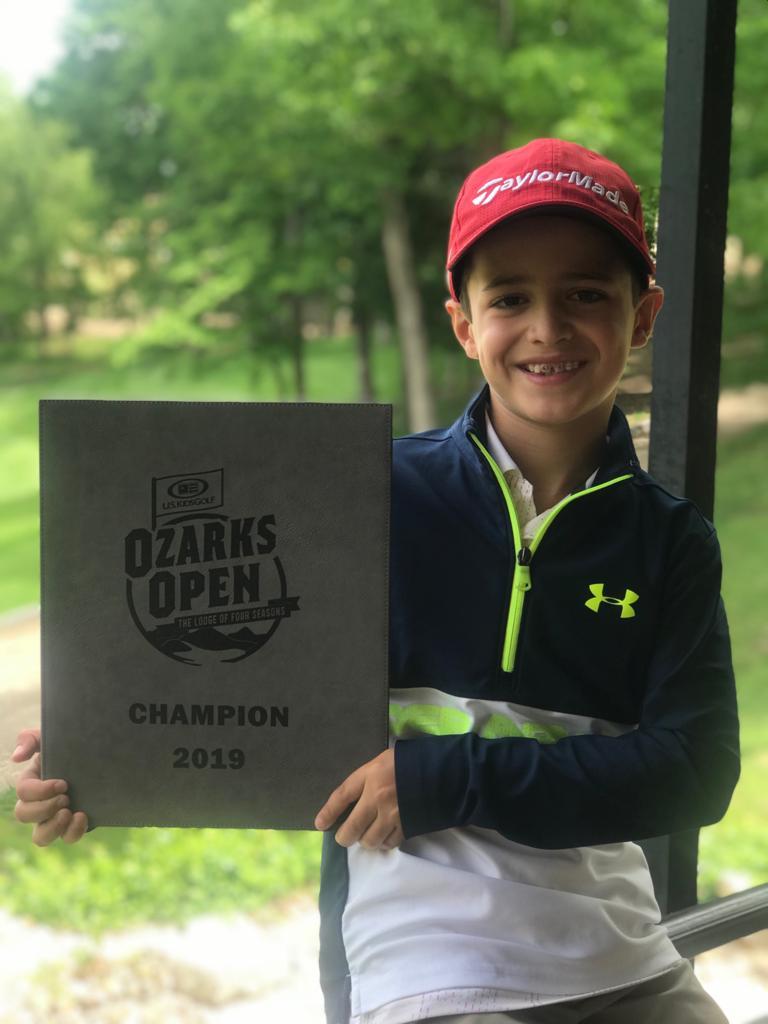 Jovem Bento Assis é campeão do Ozarks Open 2019