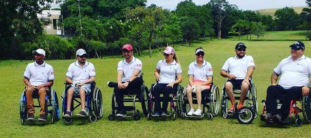 Brasileiros cadeirantes pedem ajuda para ir ao torneio mundial de golfe na Espanha