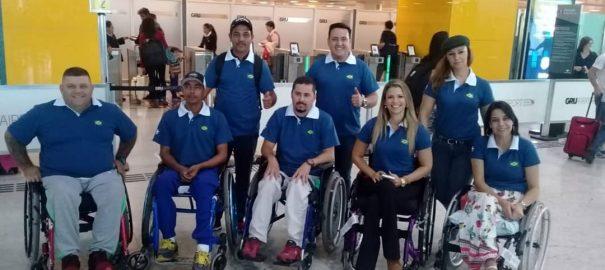 Brasileiros cadeirantes já estão na Espanha para o Mundial em Mallorca