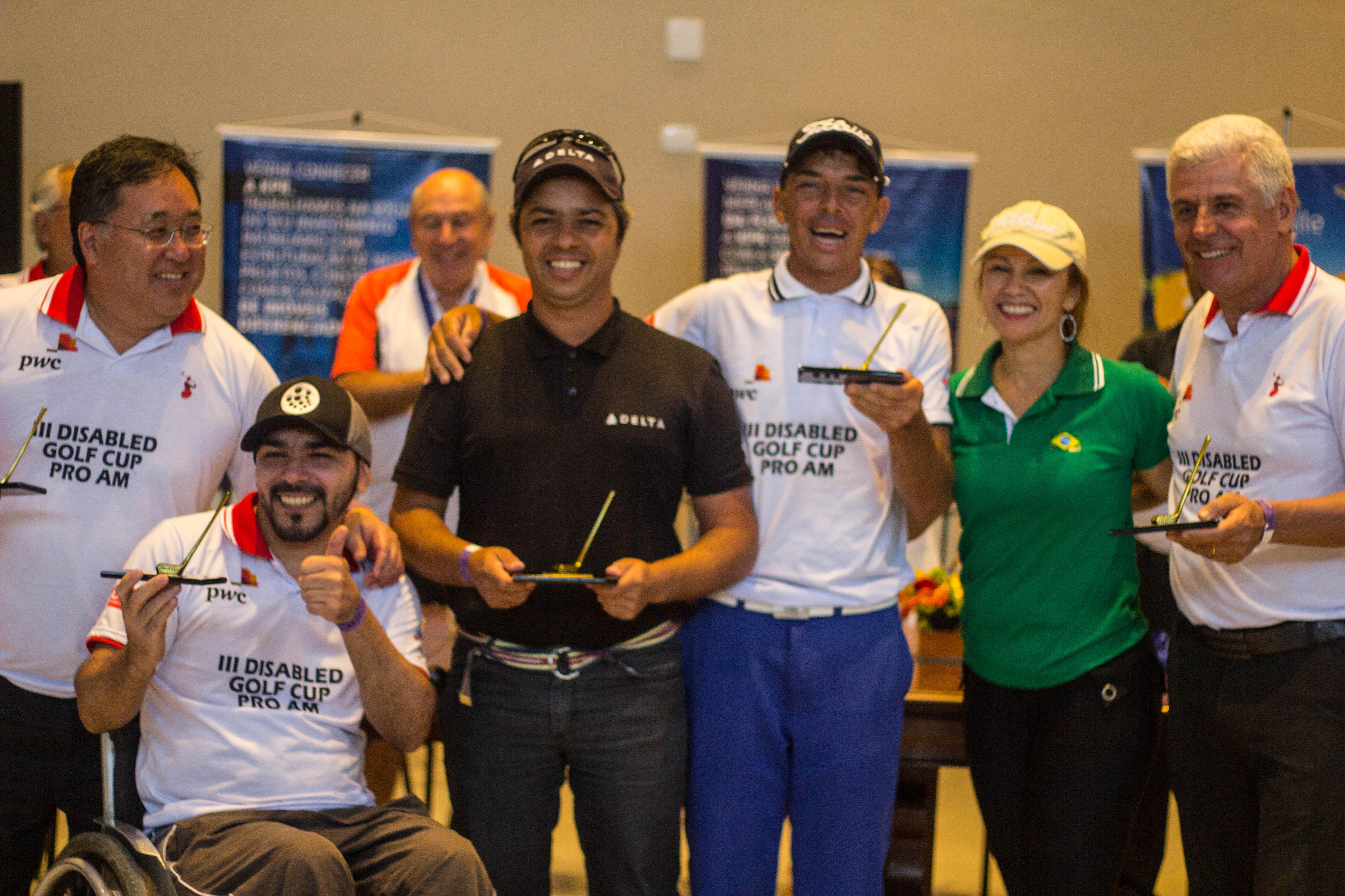 3ª Disabled Golf Cup Pro-Am, em São José dos Campos, mostra força do golfe adaptado no Brasil