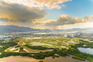 O Campo Olímpico de Golfe foi inaugurado em novembro de 2015 Foto: Rio 2016/Alex Ferro