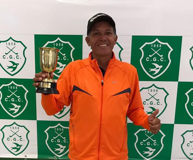 Alfredo Coelho foi o campeão da VIII Etapa do Golf Pro Tour no Clube de Golfe de Campinas