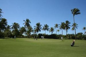 Campo do Hotel Transamérica Ilha de Comandatuba