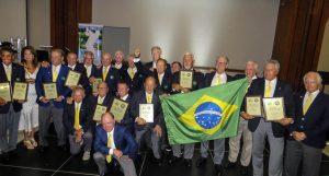Delegação brasileira Foto: Claudia Celli