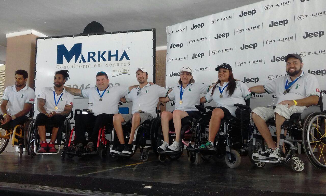 Tacadas de superação no 1º Torneio de Golfe Adaptado para Cadeirantes do Brasil