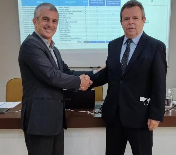 Osmar da Costa Sobrinho eleito presidente da Confederação Brasileira de Golfe (CBGolfe)