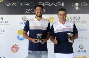 Matheus e Almir Oliveira Foto: Ricardo Fonseca/F2