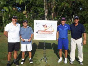 Ronaldo Sachs, Roberto Nemer, Luiz França e Dino Soares