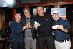 JB Miranda, Vlamir Antequera, Geraldo Ramos e Gustavo Flumignan Foto: Zeca Resendes/APG