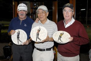 Gilberto Aguitoni, Antonio Takeo e JB Miranda Foto: Zeca Resendes/APG