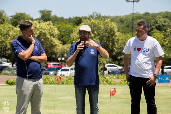 Campeões da 12ª etapa do Iguassu Golf Tour 2018