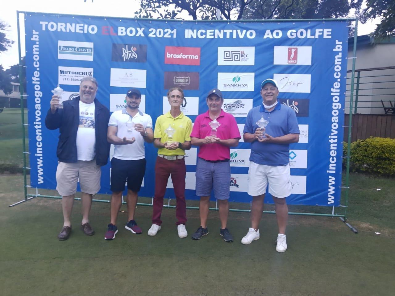 Campeões do Torneio Incentivo ao Golfe no Honda Gonf Center