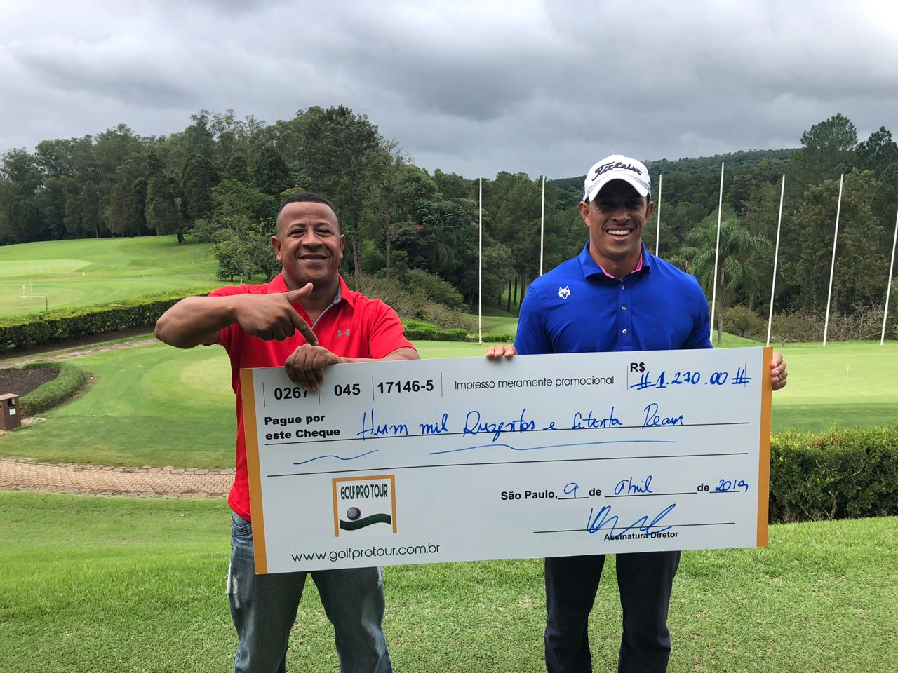 Hélio Cacimiro vence a II Etapa do Golf Pro Tour no PL Golf Club