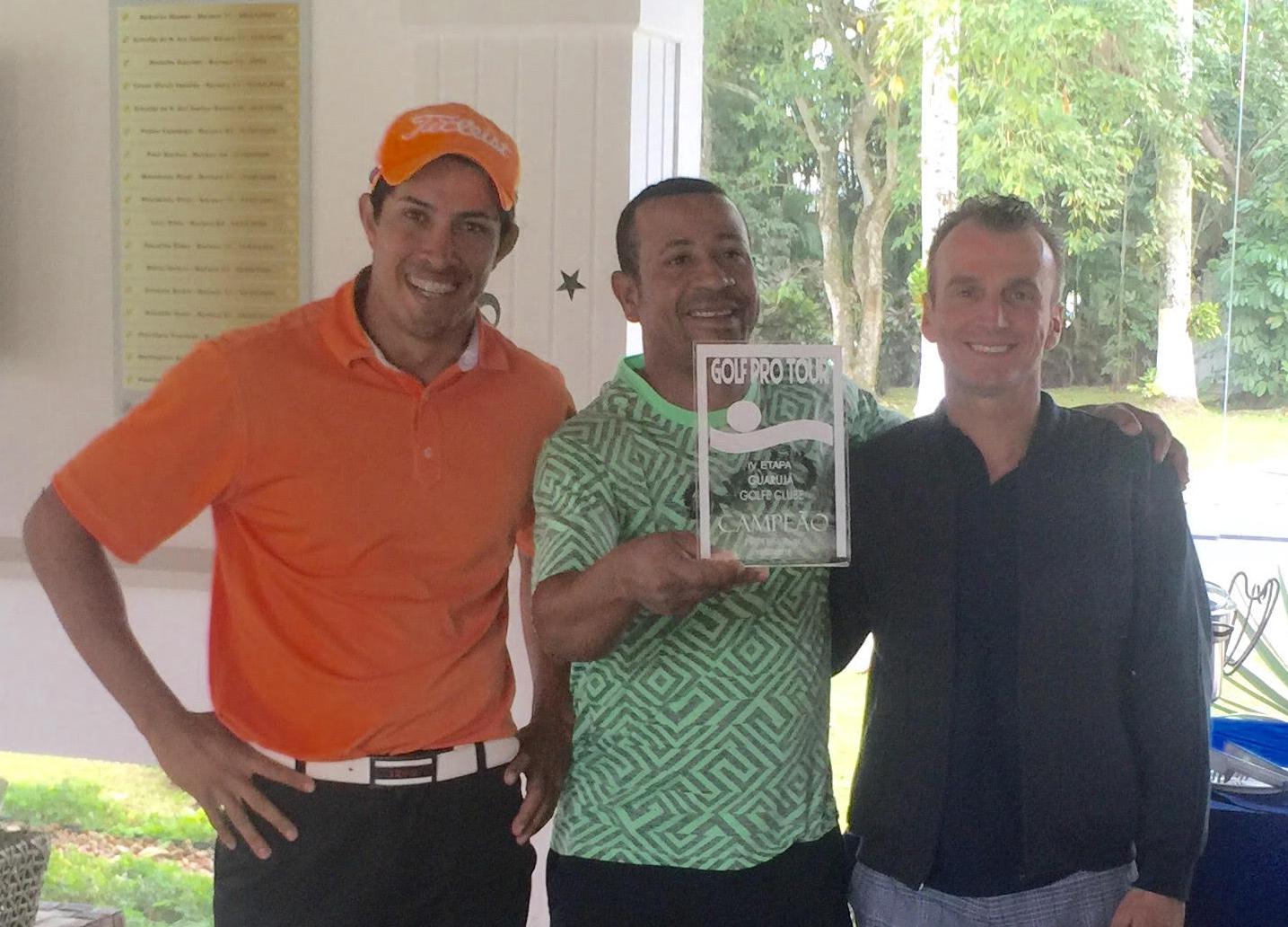 Helio Cacimiro vence Golf Pro Tour no Guarujá