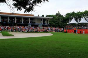 Público no São Paulo Golf Club Foto: Rodrigo Equi