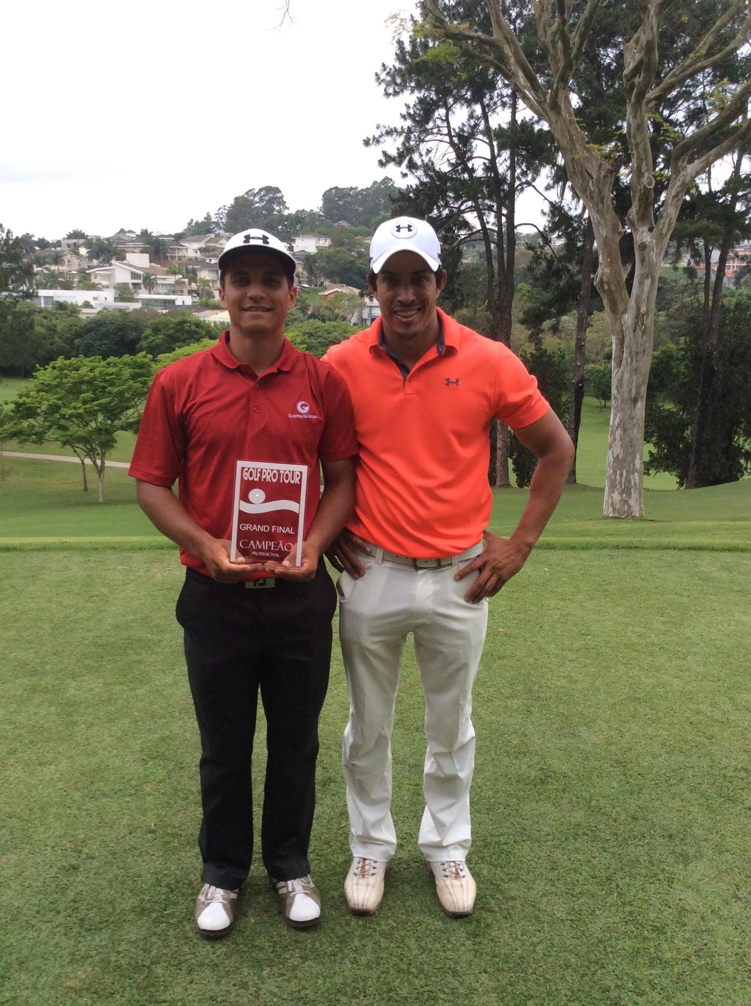 Axell dos Santos vence o Golf Pro Tour no São Fernando Golf Club