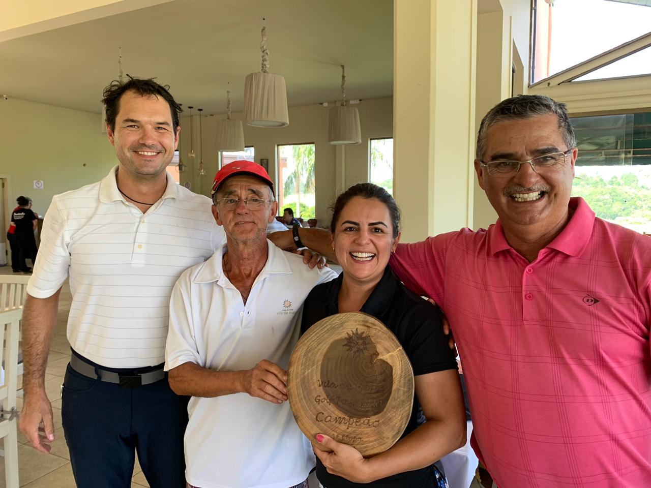 Campeões da primeira etapa do Vila da Mata Golf Tour 2020