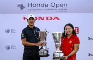 Daniel Kenji Ishii e Milin Hoshino, campeões do Bandeirantes Foto: Ricardo Fonseca/F2