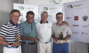 Nivaldo Gerais, Rodolfo Santos, Claudio Kiryla e Silvio Cecin Foto: divulgação ABGS