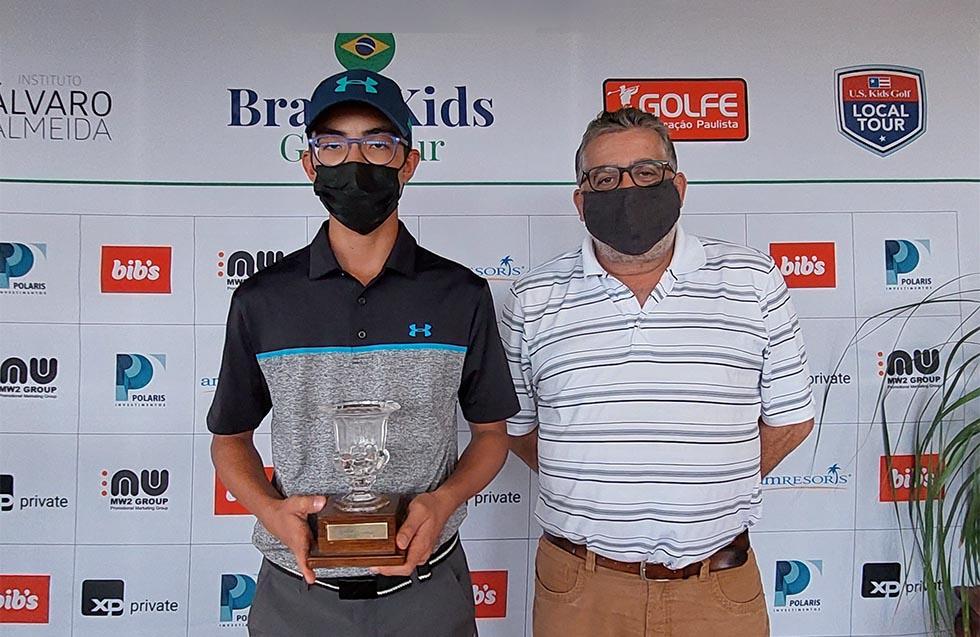 Pedro Miyata, do São Fernando, vence 5ª rodada do Torneio Juvenil de SP, no Damha