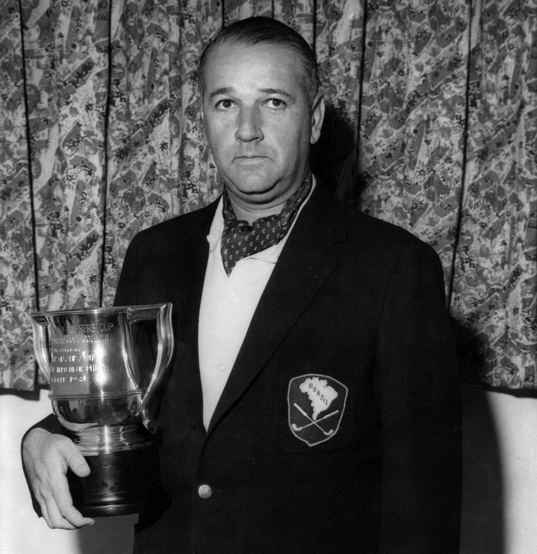 Seymour Marvin, fundador da CBGolfe, é o eleito de 2021 para o Hall da Fama do Golfe Brasileiro