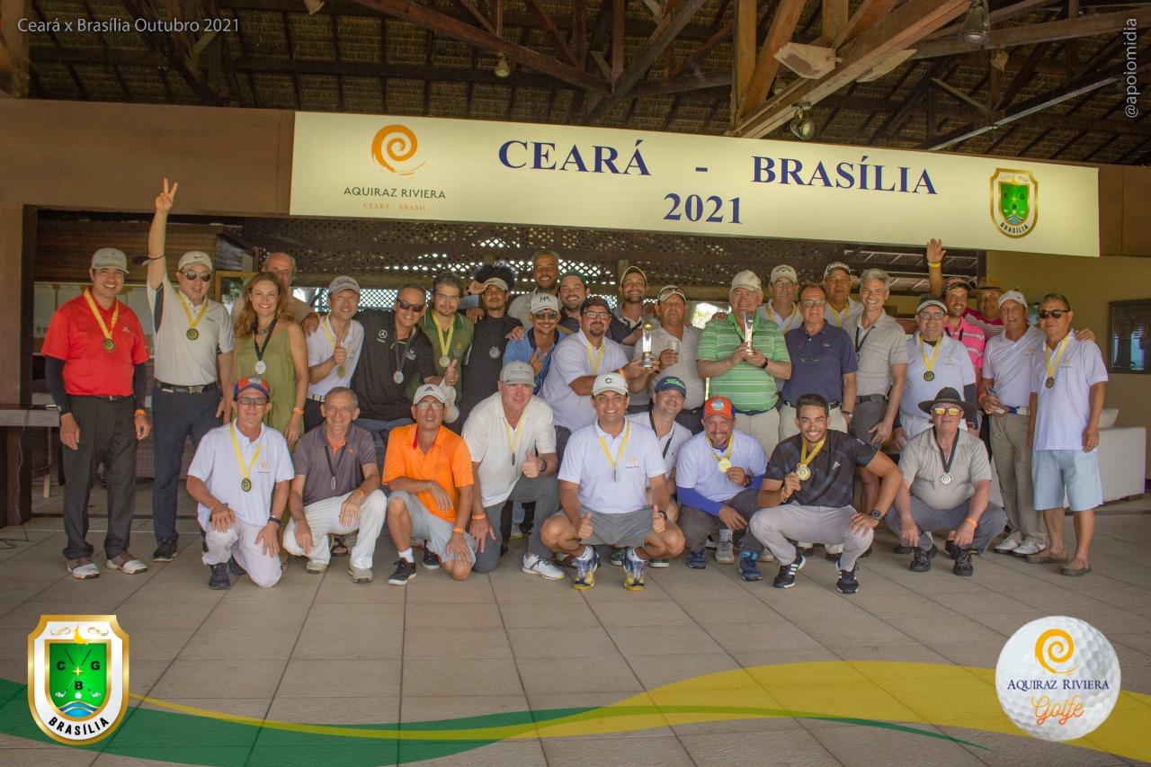 Campeões do Desafio de Golfe Ceará X Brasília