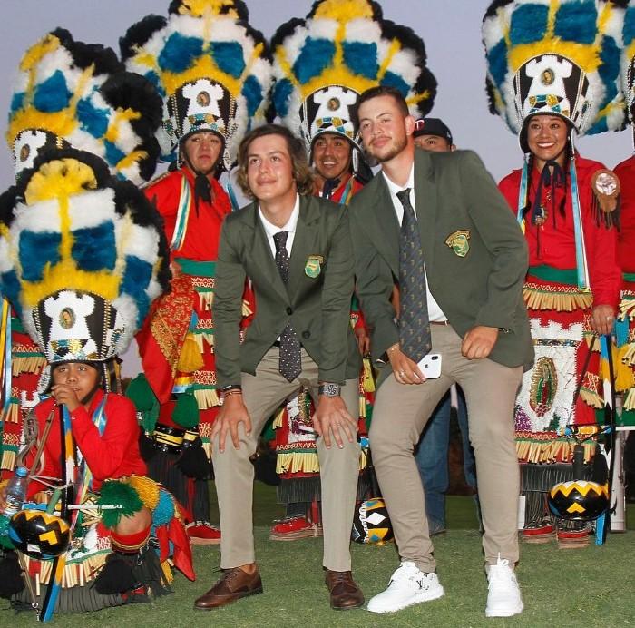 Andrey Xavier, Guilherme Grinberg e Victor dos Santos no Amador Internacional do México