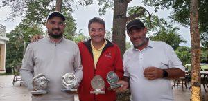 Rodrigo Carbonel, Charliston Jacomazi e Maurício Cotrin